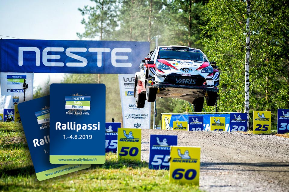 Neste rallypass och officiell tävlingsguide från Lovisa Ankkurituuli!