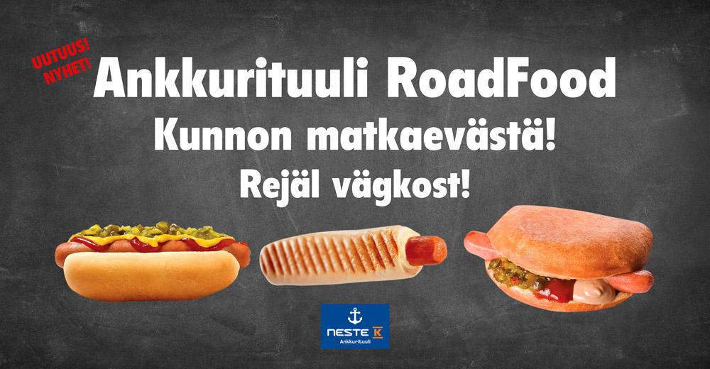 RoadFood – rejäl vägkost nu hos oss!