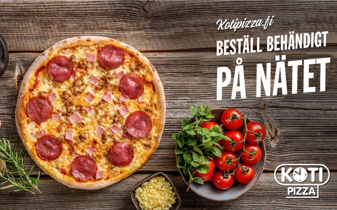 Beställ pizza behändigt på nätet!