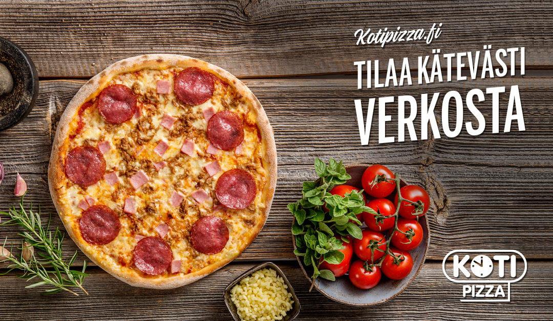 Tilaa pizza käteveästi verkosta!