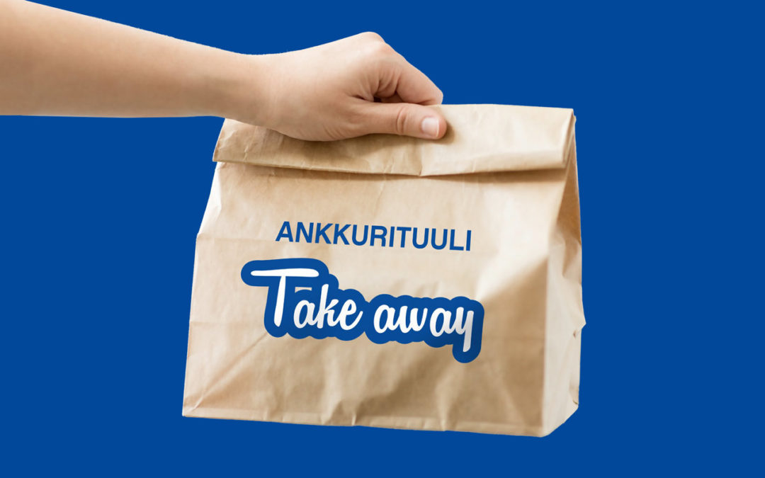Vi är nu helt en take away-restaurang